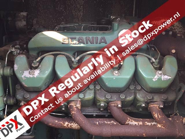 Scania DS14 Generatorset, Diesel generatoren, Bouw