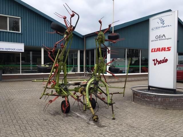 CLAAS Volto 640 HR, Harkkeerders en schudders, Landbouw