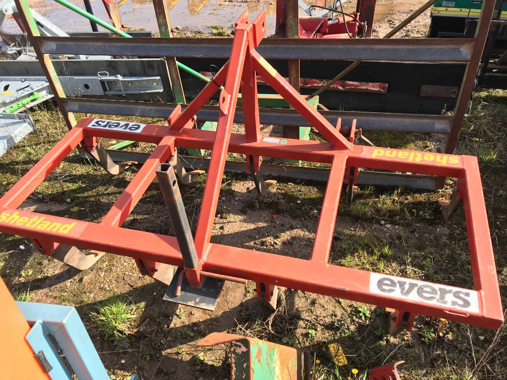 Evers Shetland 2 mtr., Cultivatoren, All Used Machines