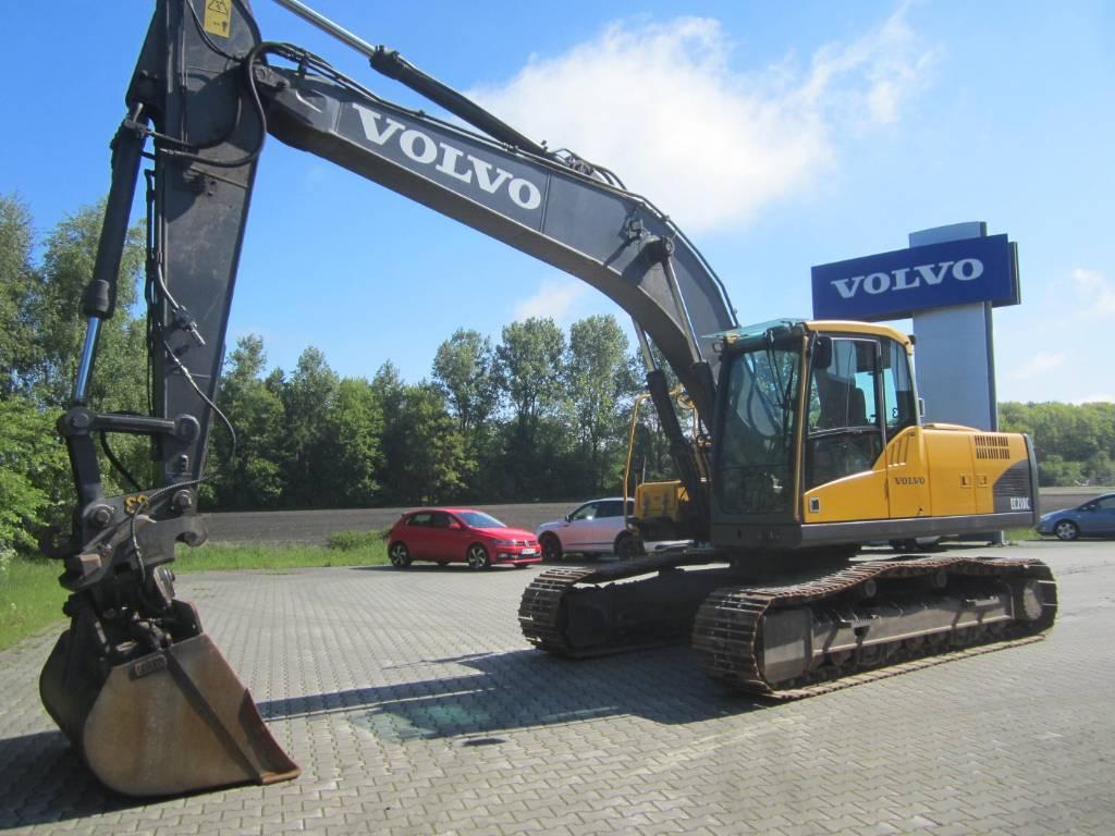 Volvo EC 210 C L, Raupenbagger, Baumaschinen