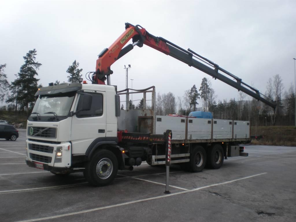 Volvo FM12 380 6x4, Boom / Crane / Bucket Trucks, Trucks and Trailers