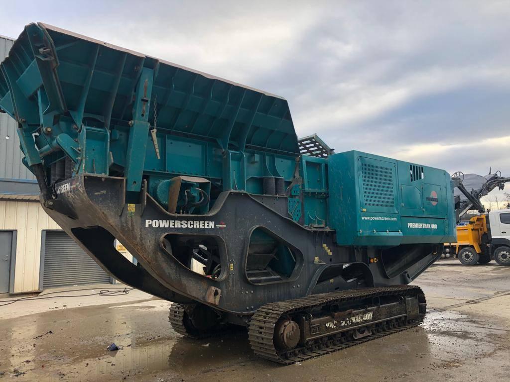 PowerScreen Premiertrak 400, Mobile crushers, Construction Equipment