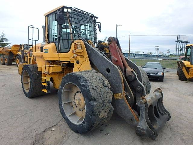 Volvo L110G, Wheel Loaders, Construction Equipment
