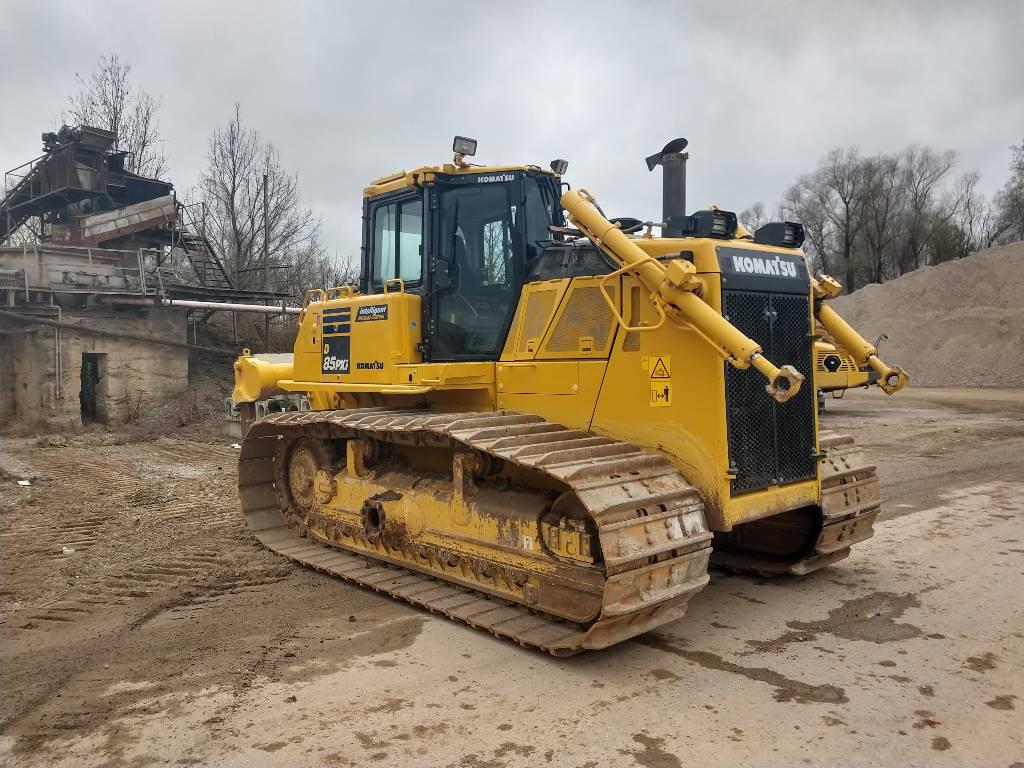 Komatsu D85PXi-18, Crawler dozers, Construction Equipment
