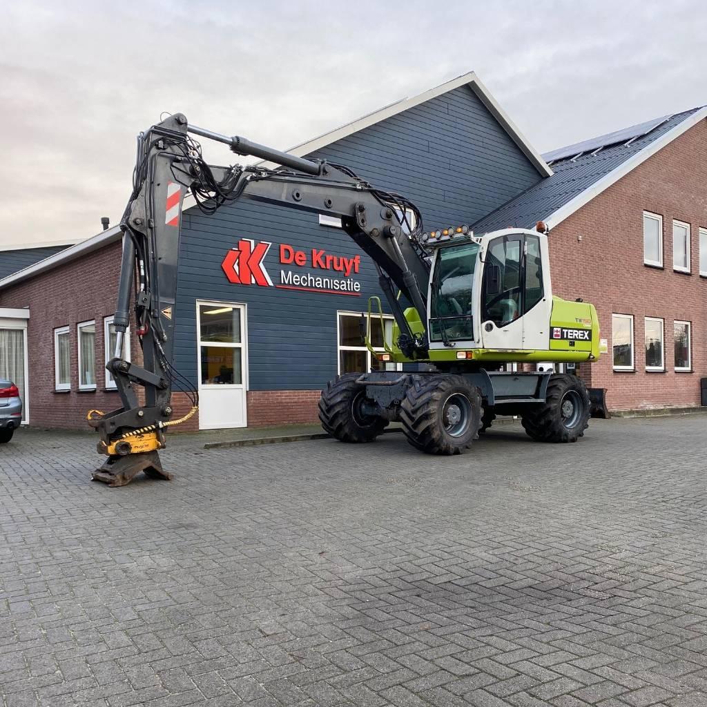 Atlas Terex TW150, Wheeled Excavators, Construction