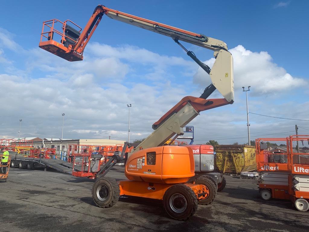 JLG 600 AJ 4x4, Articulated boom lifts, Construction