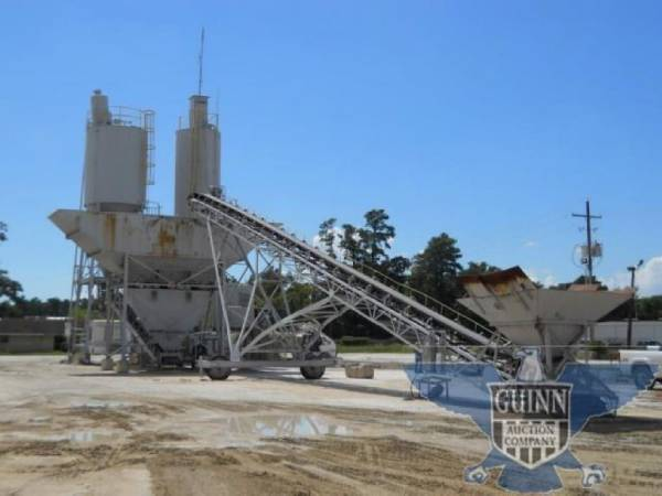 Biggest Concrete Plant In The Usa : Purchase cs johnson dry batch concrete plant