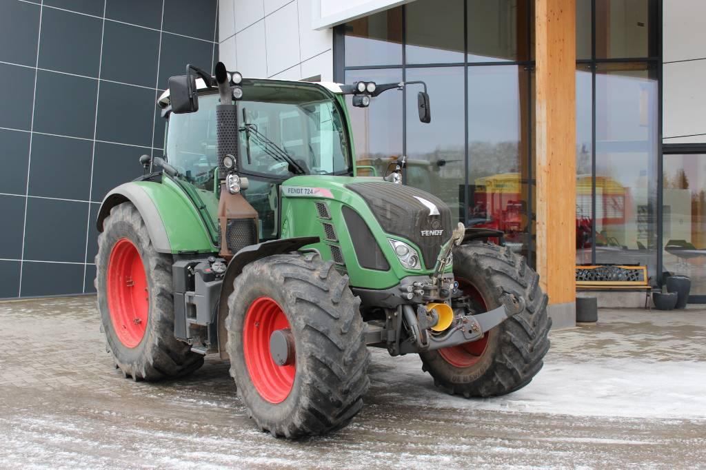 Fendt 724 Profi, Traktorid, Põllumajandus