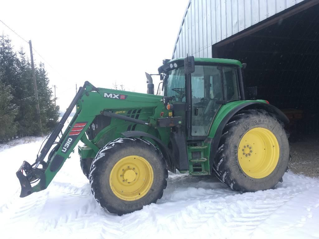 John Deere 6125 M, Traktorid, Põllumajandus