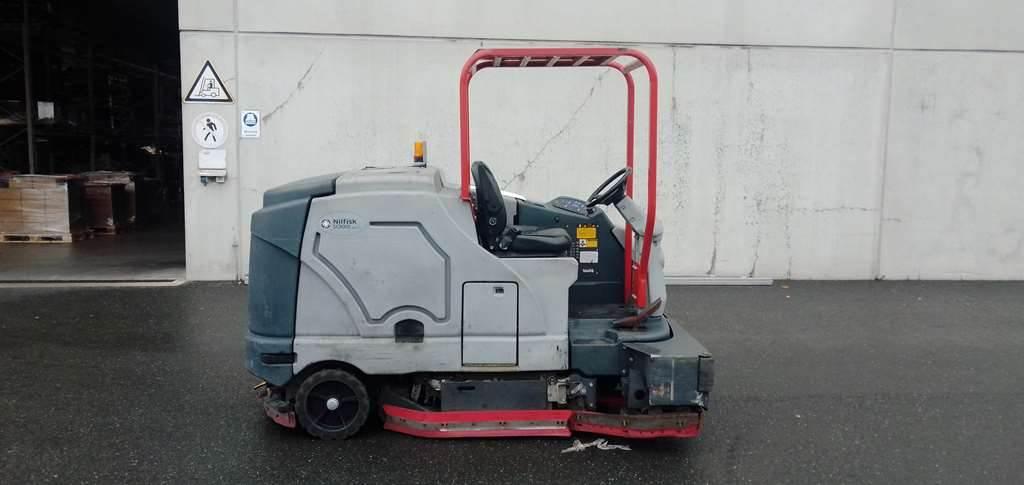 Nilfisk SC 8000 LPG, Warehouse Equipment - Other, Material Handling