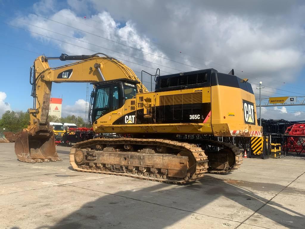 Caterpillar 365 C, Crawler excavators, Construction