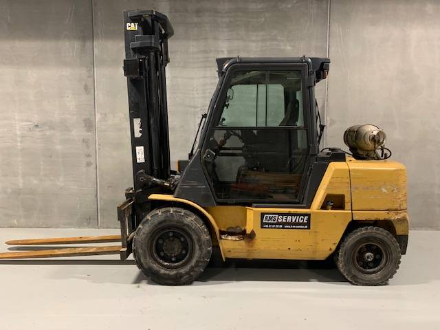 Caterpillar GP45K-400ZT, LPG gaffeltrucks, Trucks