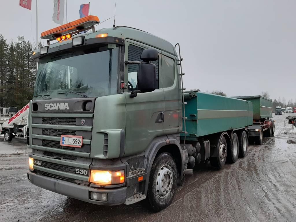 Scania R144 8x4, Sora- ja kippiautot, Kuljetuskalusto