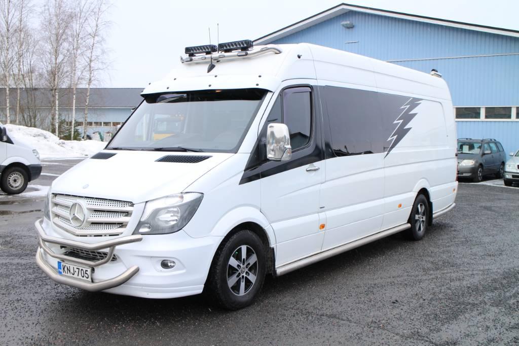 Mercedes-Benz Sprinter 319 CDI, Muut autot, Kuljetuskalusto