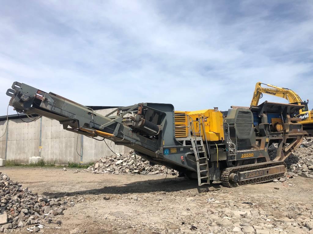 Tesab 10580, Mobile crushers, Construction Equipment
