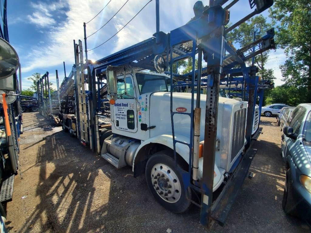 9592 Peterbilt 365, Car Haulers, Trucks and Trailers