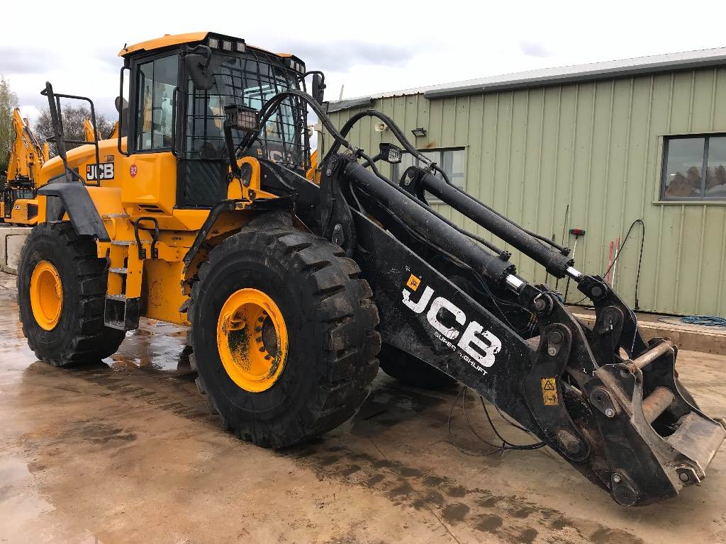 JCB 457 E HT Super Hi Lift, Wheel loaders, Construction