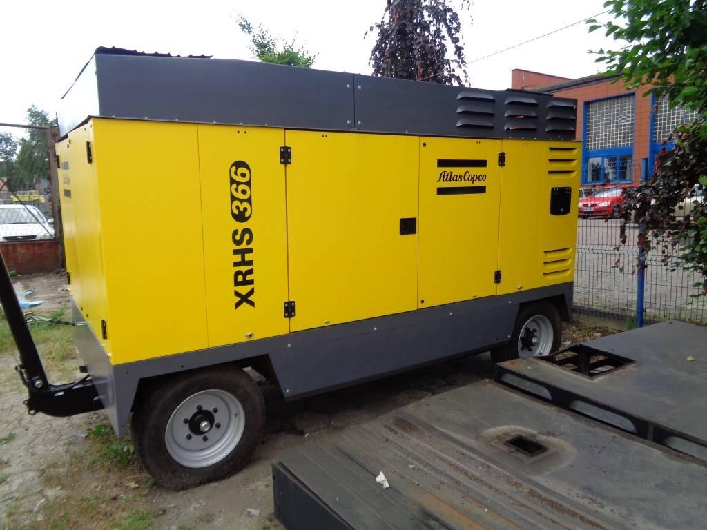 Atlas Copco XRHS 366, Compressors, Construction