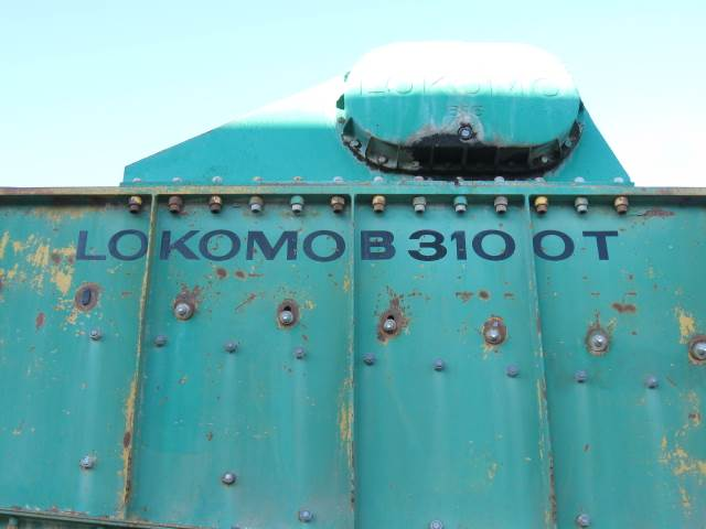Lokomo B 3100 T, Sorteringsverk, Entreprenad
