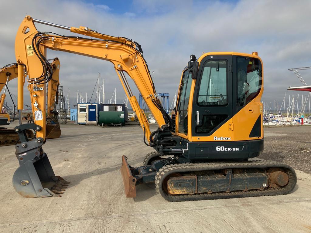 Hyundai Robex 60 CR-9 A, Mini excavators < 7t (Mini diggers), Construction