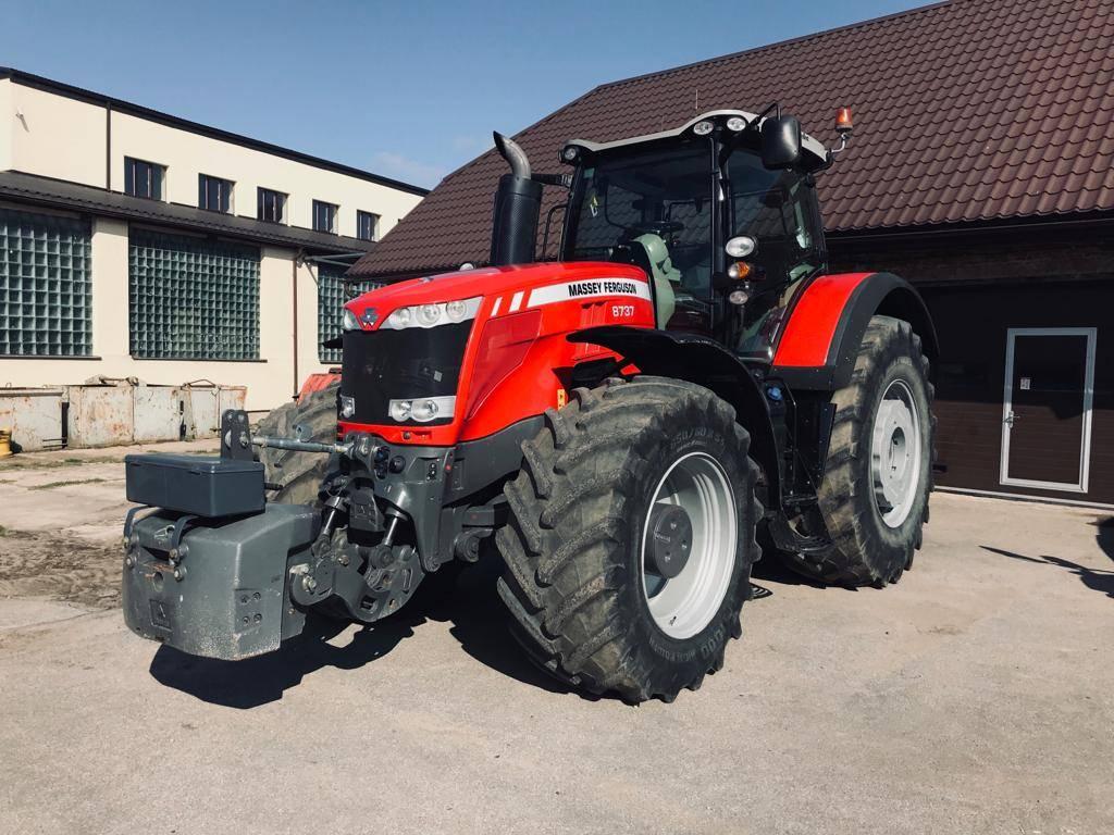 Massey Ferguson 8737 Dyna VT, Traktori, Lauksaimniecība
