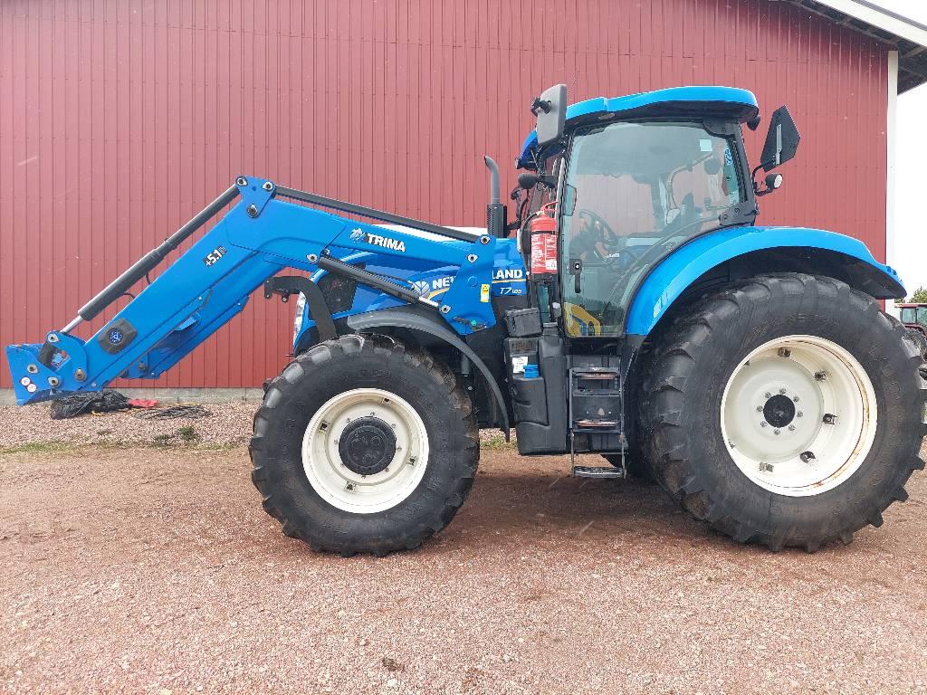 New Holland T 7.185 RC, Traktorit, Maatalous