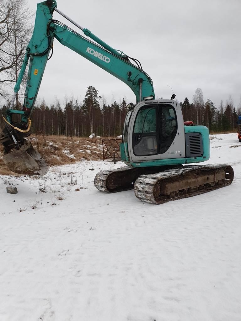 Kobelco SK 135 SR LC, Telakaivukoneet, Maarakennus