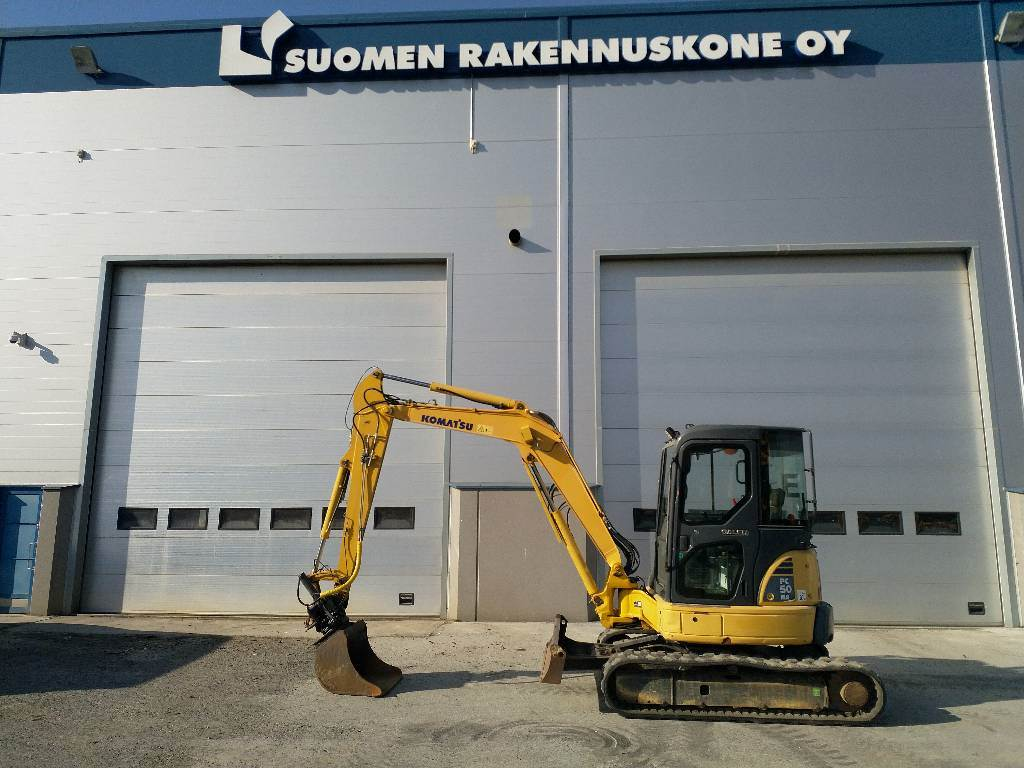 Komatsu PC50MR-2, Mini excavators, Construction Equipment