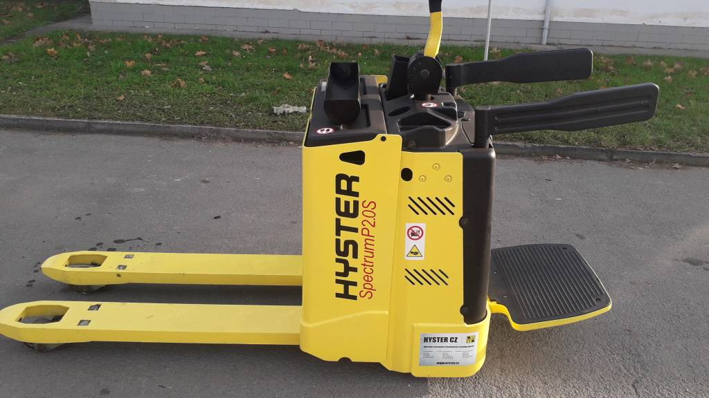 Hyster P2.0S FBW, Low lifter with platform, Material Handling