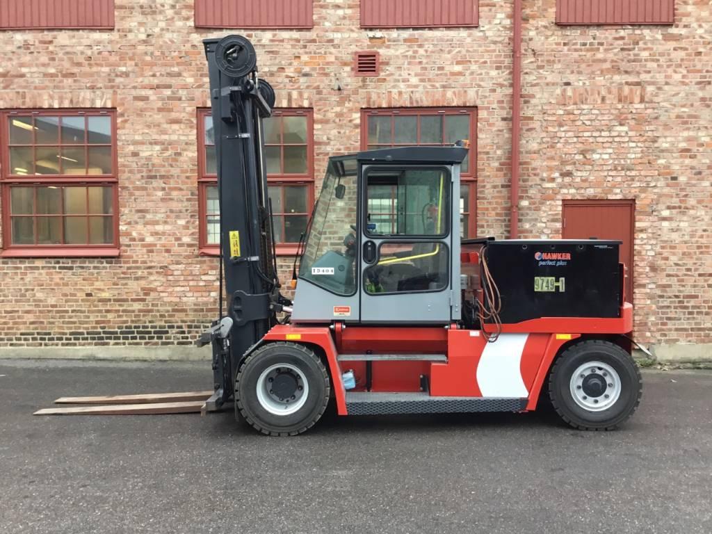 Kalmar ECE 90-6 L, Elmotviktstruckar, Materialhantering
