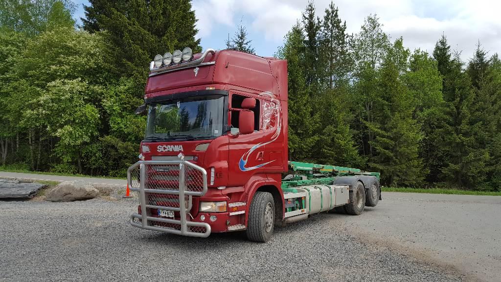 Scania R500, Vaihtolava-autot, Kuljetuskalusto