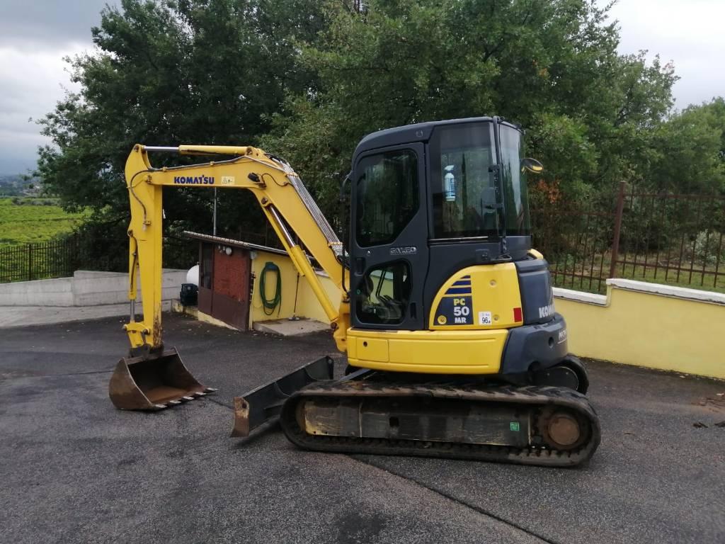 Komatsu PC50MR-2, Mini excavators, Construction Equipment