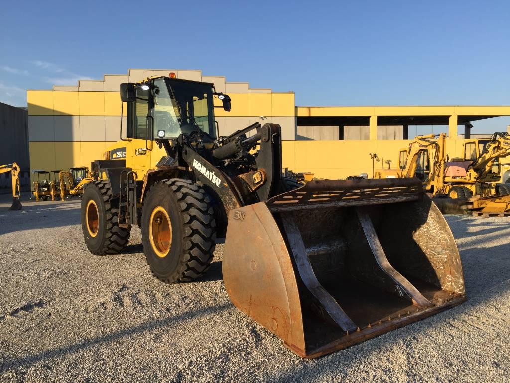 Komatsu WA250PZ-6, Wheel Loaders, Construction Equipment