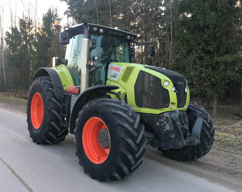 CLAAS Axion 850 Cmatic, Traktoriai, Žemės ūkis