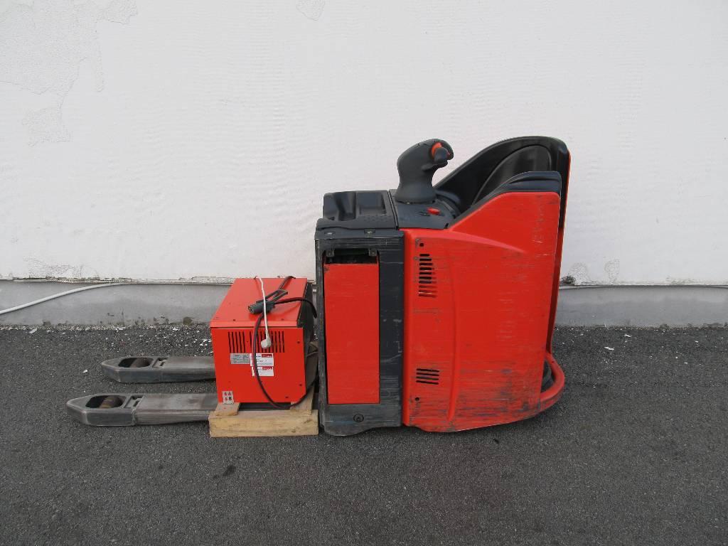 Linde T20SP/131, Low lifter with platform, Material Handling
