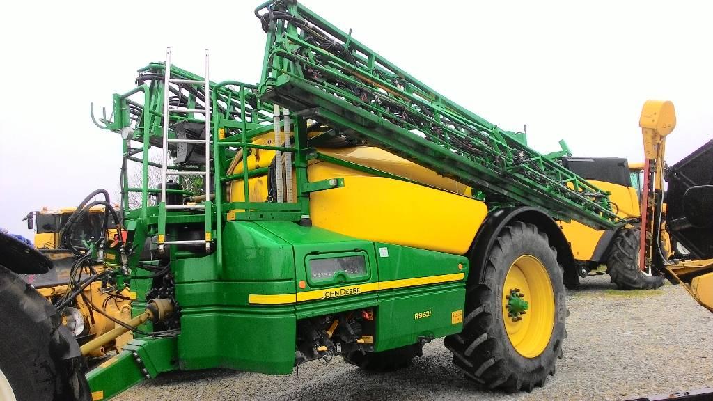 John Deere R 962 i, Haagispritsid, Põllumajandus