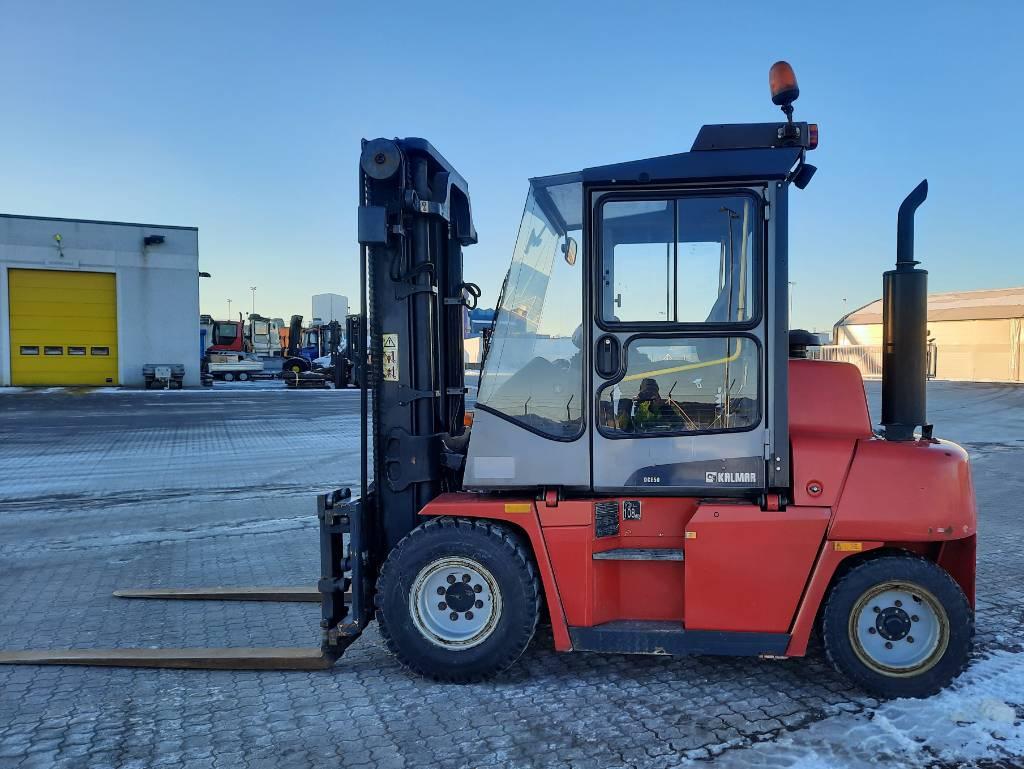 Kalmar DCE50-6HM, Dieseltrukit, Materiaalinkäsittely