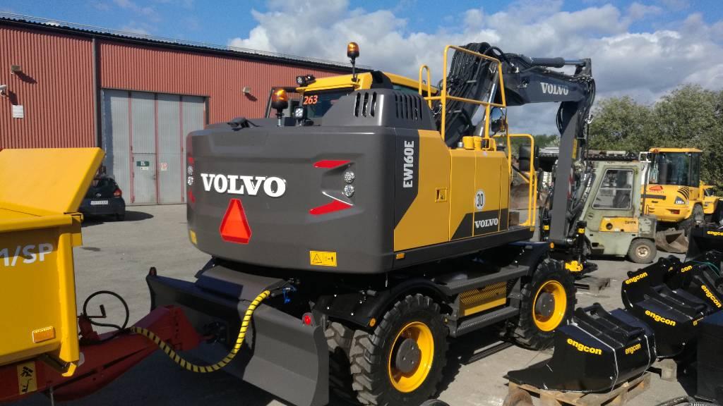 Volvo EW 160 E, Uthyres, Hjulgrävare, Entreprenad
