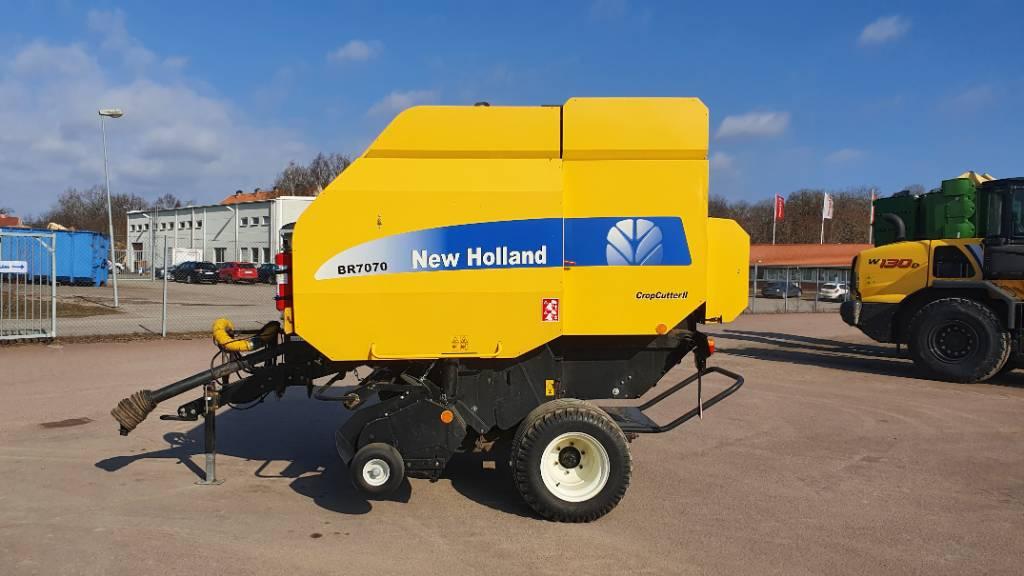 New Holland BR 7070, Rundbalspressar, Lantbruk