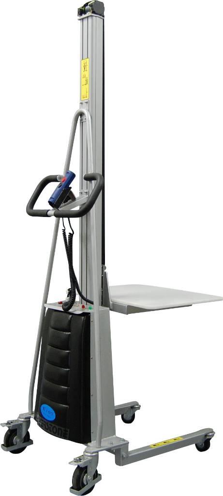 Silverstone E100, Staplare, Materialhantering