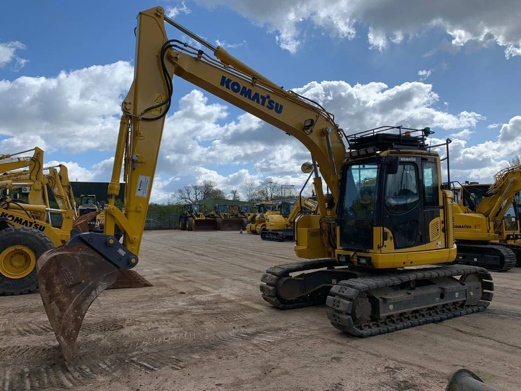 Komatsu PC138US-11, Crawler excavators, Construction