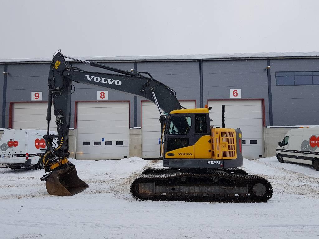 Volvo ECR235CL, Гусеничные экскаваторы, Строительная техника