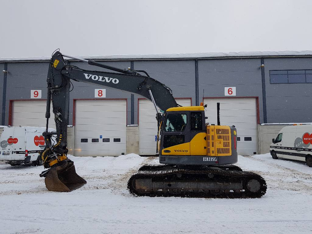 Volvo ECR235CL, Crawler excavators, Construction
