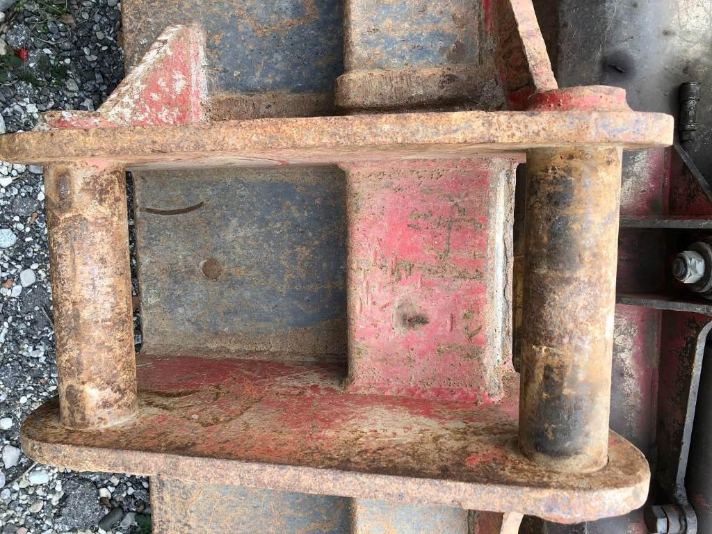 Miller 2000x70, Schaufeln, Baumaschinen