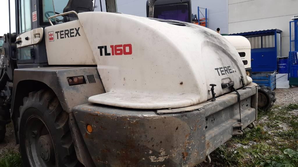 Terex TL160, Cargadoras sobre ruedas, Construcción
