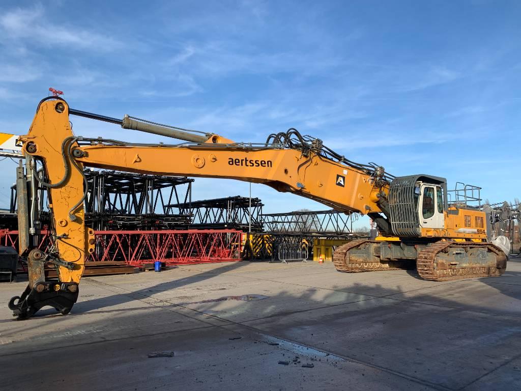 Liebherr R 954C VH-HDW Litronic, Demolition excavators, Construction