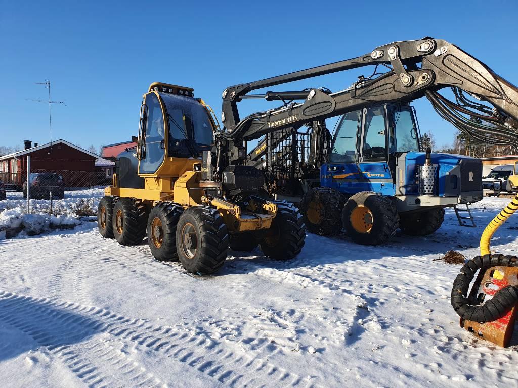 Tigercat 1135, Skördare, Skogsmaskiner