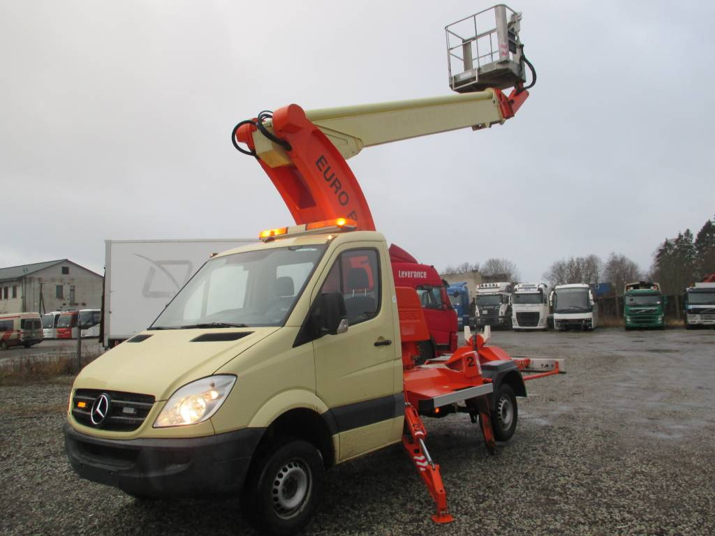Mercedes-Benz SPRINTER EURO B 25 T, Truck Mounted Aerial Platforms, Construction Equipment