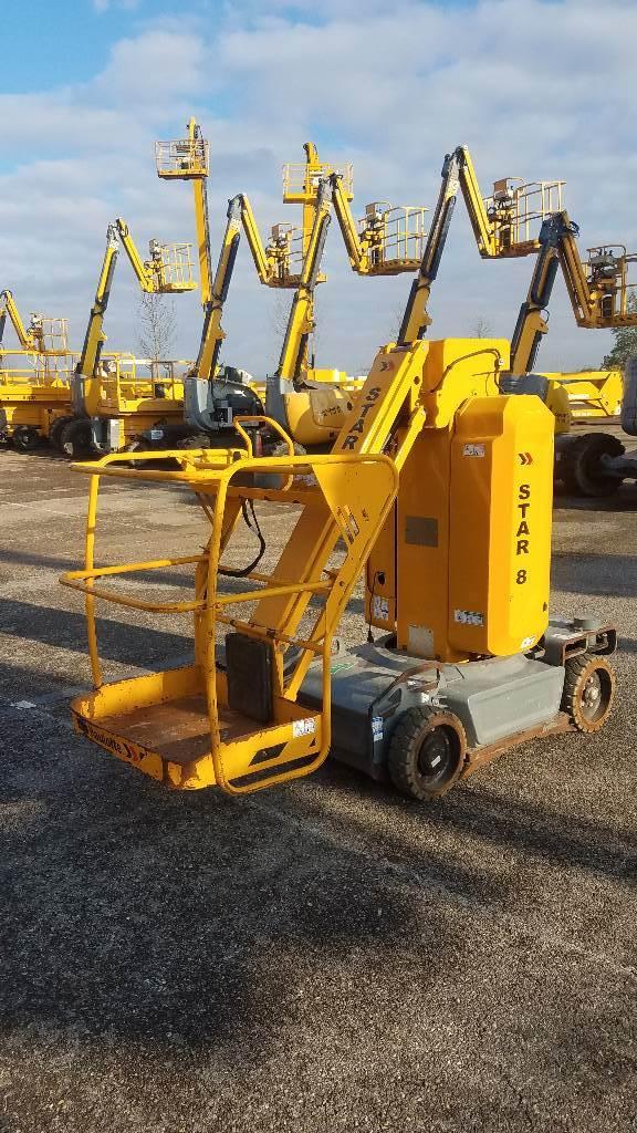 Haulotte Star8, Vertical mast lifts, Construction Equipment