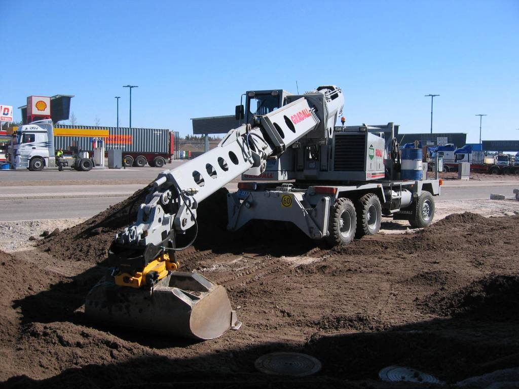 Gradall XL4100, Special excavators, Construction